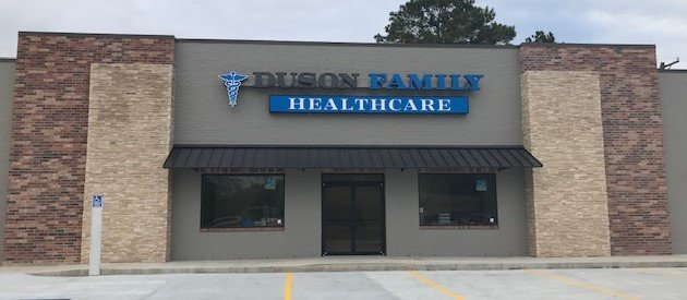 Duson Family Healthcare: 110 W. first St, Duson, LA