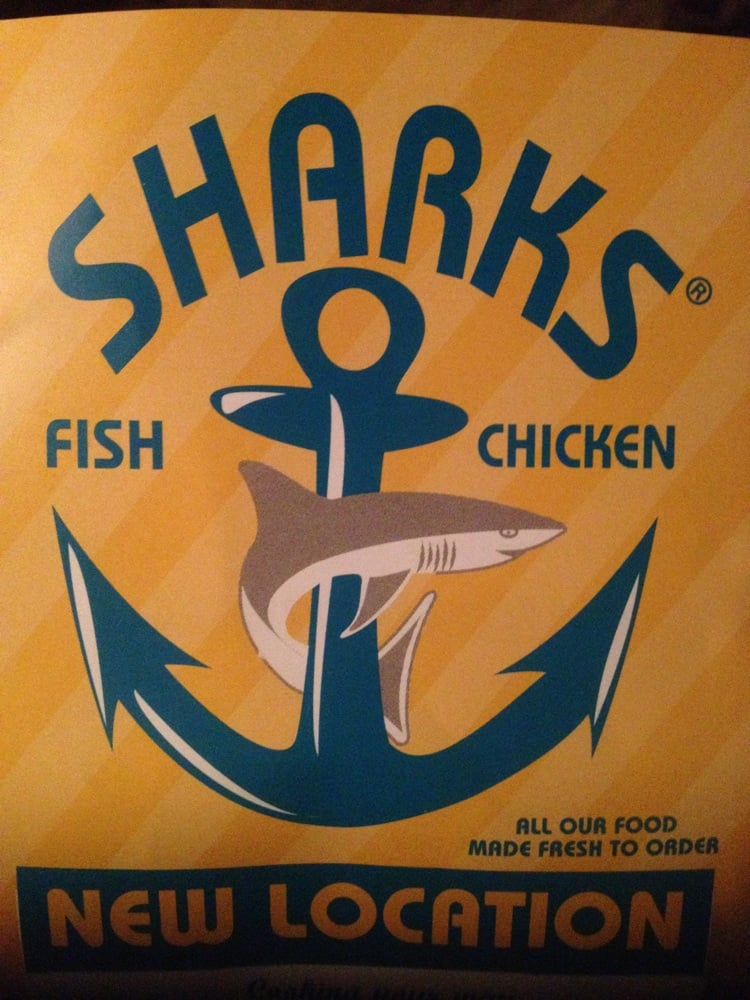 Sharks fish and chicken american traditional 6606 for Sharks fish and chicken near me