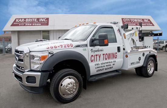 City Towing: 1785 Southfield Rd, Lincoln Park, MI