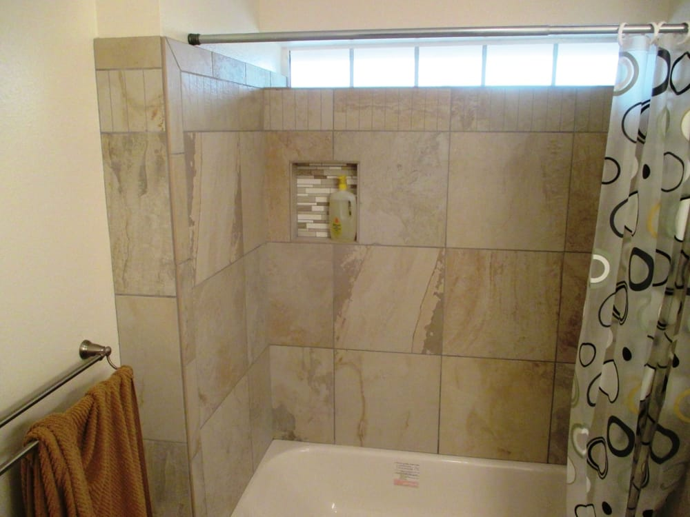 18x18 tile in small bathroom bathroom remodeling idea porcelain tile 18 x 18 with 21767