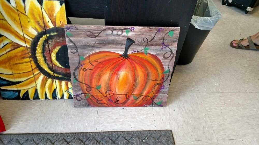 Tis The Season To Paint A Pumpkin At Wine And Design Jacksonville