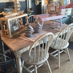 Photo Of ReFreshed Furniture   Sarasota, FL, United States. Coastal Dining  Table And