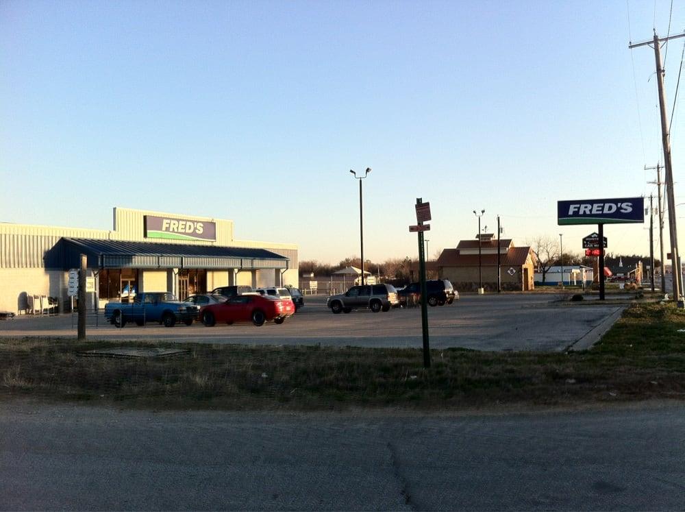 Fred's: 618 N Main St, Jacksboro, TX