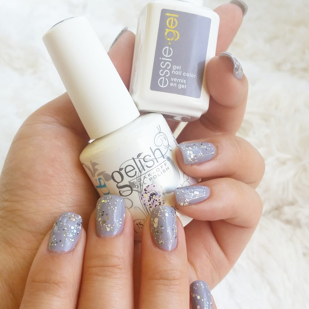 New gel color!#essie (on a silver spoon) #gelish (Dabble it on ...