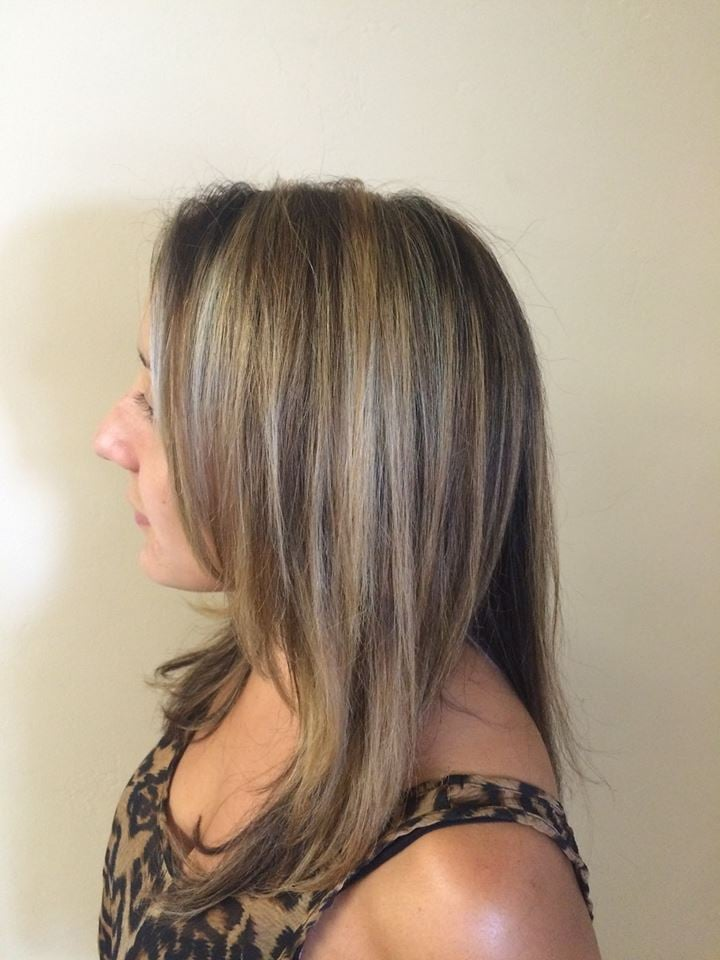 Who cuts christa delcs hair highlight lowlight cut style yelp for O track capelli