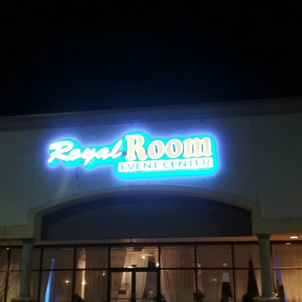 The Royal Room Event Center Is 8 Miles From Airport And
