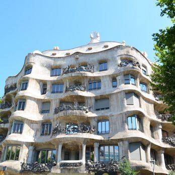 photo of la pedrera casa mil barcelona spain