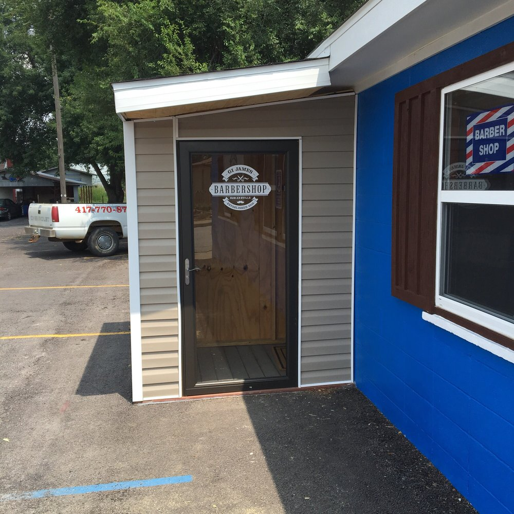 GI James Barber Shop: 203 W Tilden St, Humansville, MO