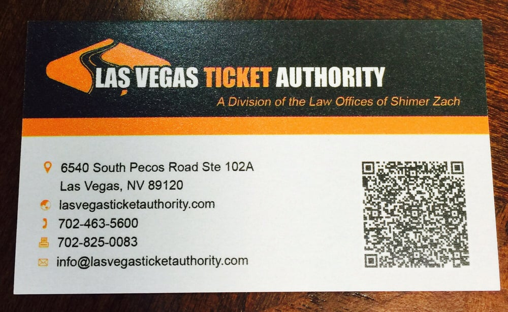 Business card with convenient QR code! - Yelp