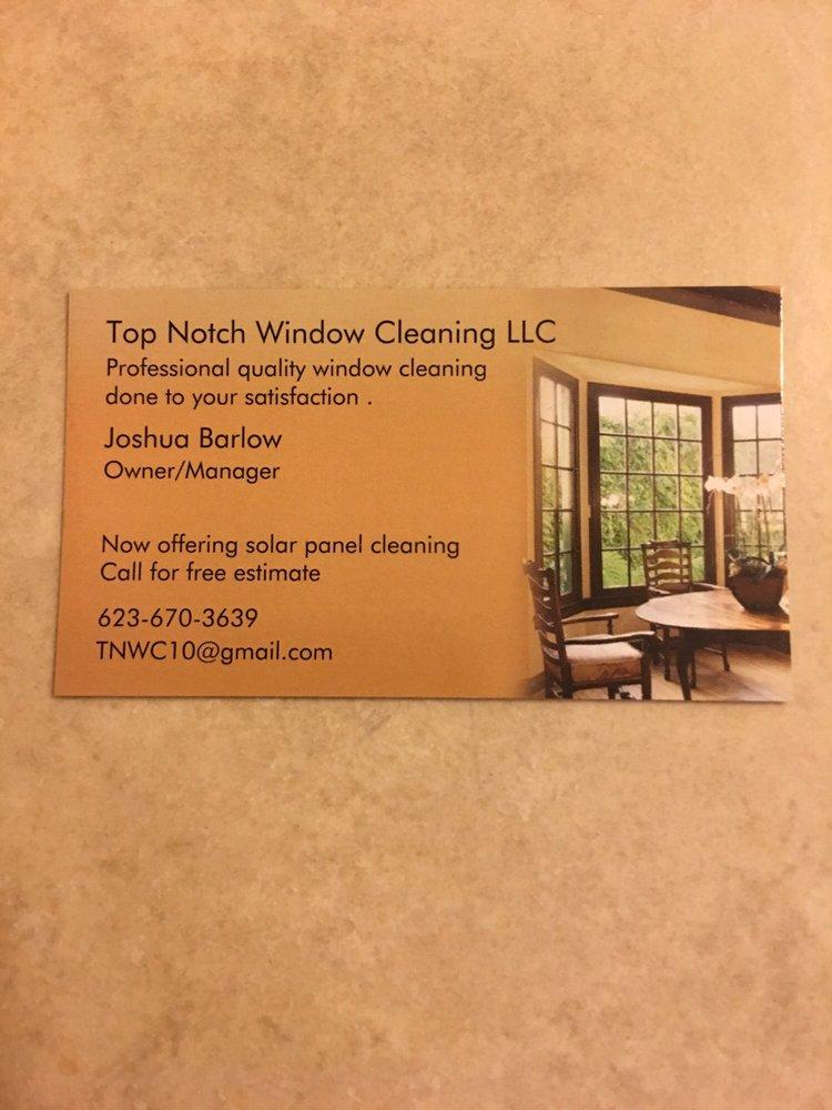 Top Notch Window Cleaning: Buckeye, AZ