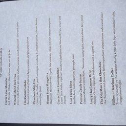 photos for crater lake lodge dining room | menu - yelp