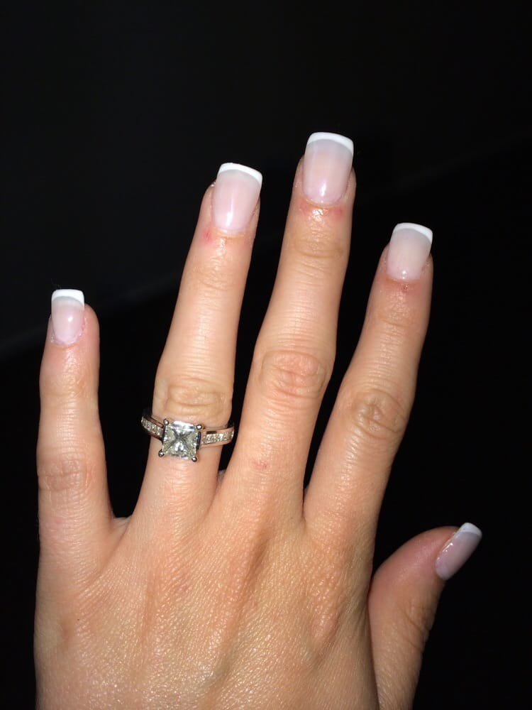 Men Do You Like The Look Of Acrylic French Tips On A Lady
