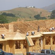 What are some major construction companies in California?