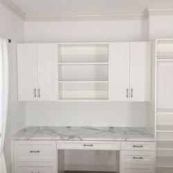 Photo Of Chattanooga Closet   Chattanooga, TN, United States. White  Melamine Custom Desk
