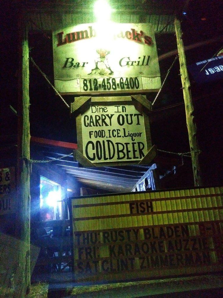 Lumberjack's Bar & Grill: 5530 E US Hwy 50, Butlerville, IN