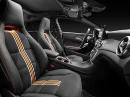 Interior Of The Cla 250 Edition Orange Yelp
