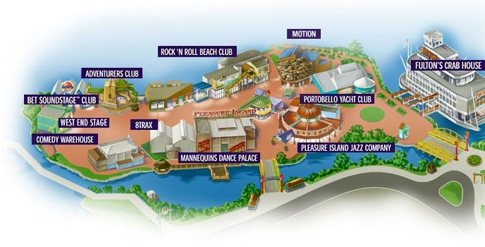 Why did disney close pleasure island