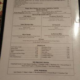 Tecate Restaurant Houston Menu
