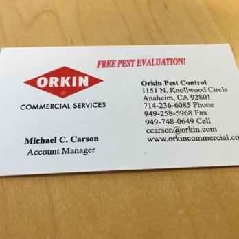 Orkin Pest Control Long Beach Ca