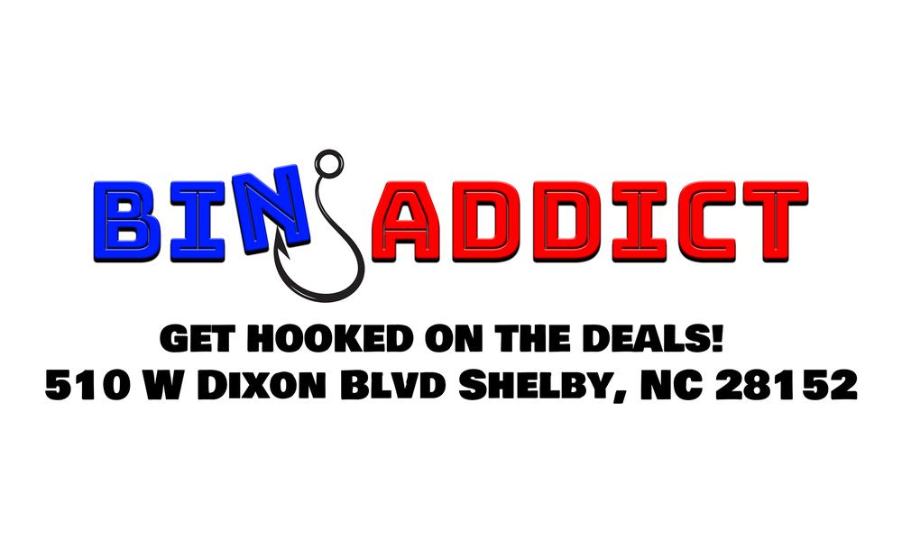 Bin Addict: 510 W Dixon Blvd, Shelby, NC