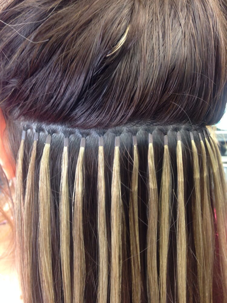 Individual Micro Link Hair Extensions Yelp