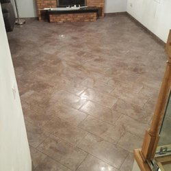 Photo Of Flooring America   Frankfort, IL, United States. Just Completed  Porcelain Job ...