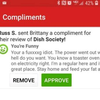 compliments that start with b