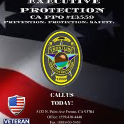 Frontline Executive Protection - Security Services - 5132 N Palm Ave