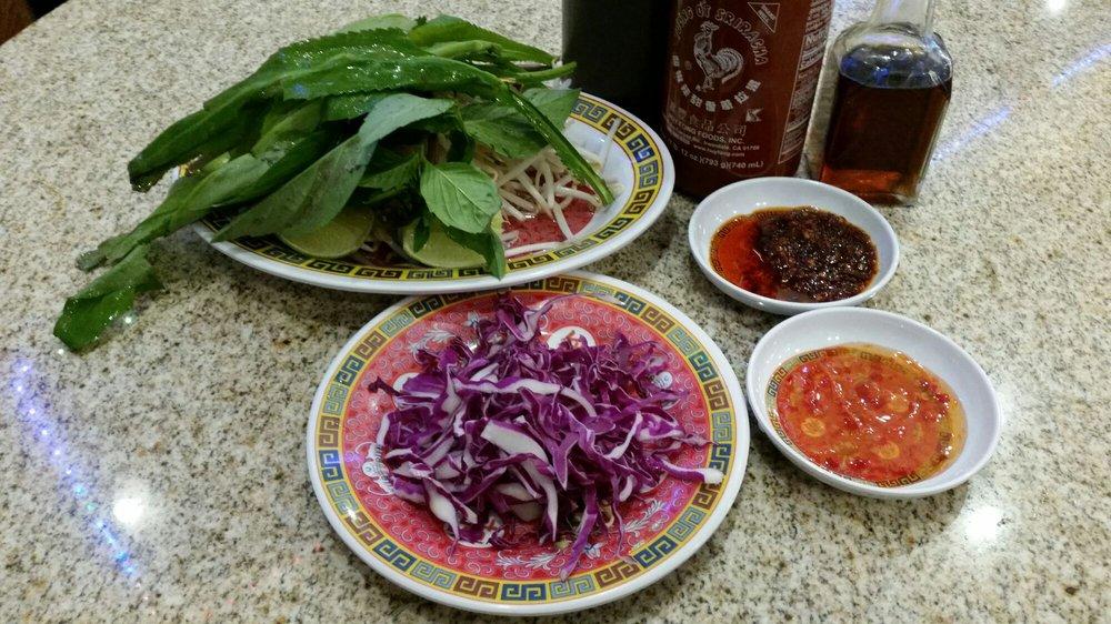 Food from Pho Soc Trang