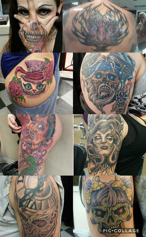 RedRum Tattoo & Body Piercing: 4558 Hwy 95, Fort Mohave, AZ