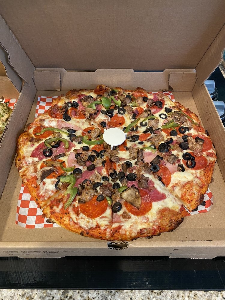 Food from La Pizza Nostra