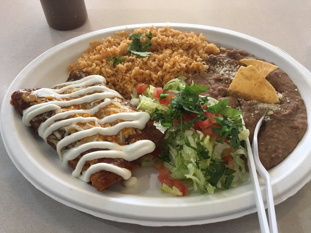 Chicken Enchiladas The Sauce Is Different Than The Standard