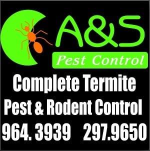 A & S Pest Control: Brazoria, TX