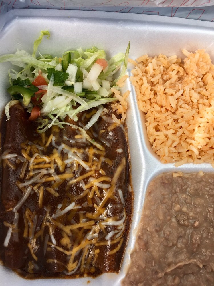 Food from Crazy Burrito