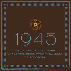 1945 dutch east indies cuisine chiuso cucina