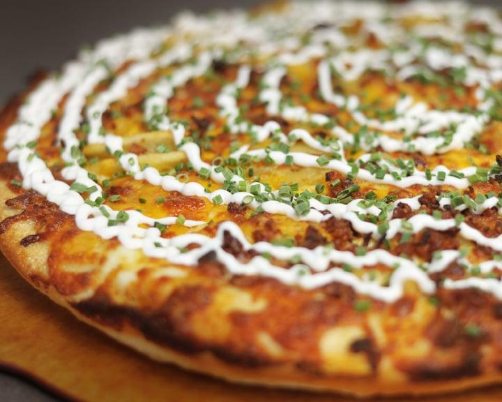 Baked Potato Pizza is amazing! - Yelp