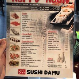 Image result for sushi damu