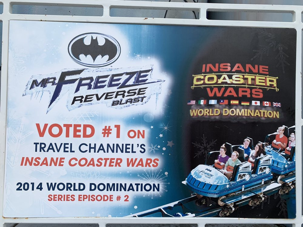 Mr Freeze: Reverse Blast: 4900 Six Flags Rd, Pacific, MO