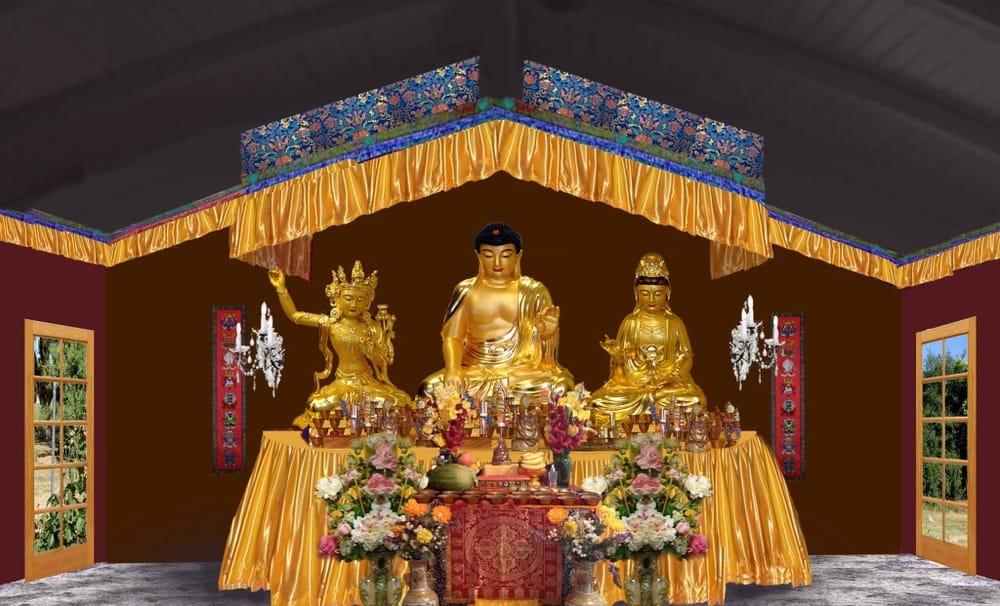 Vajrasana Temple and Retreat center