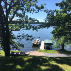 Photo Of Bay Vue Resort Birchwood Wi United States Nice Dock