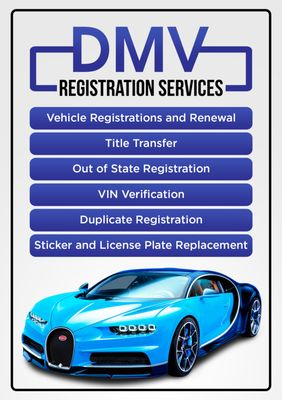 Tag & Title Vehicle Registration DMV Services 1206 Fruitvale