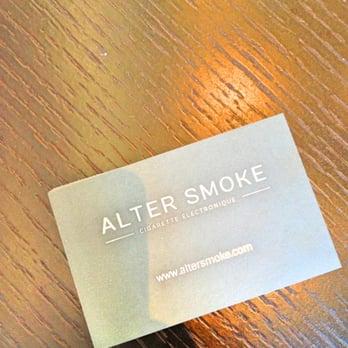 alter smoke miromesnil cigarette electronique bureaux de tabac 28 rue de miromesnil. Black Bedroom Furniture Sets. Home Design Ideas