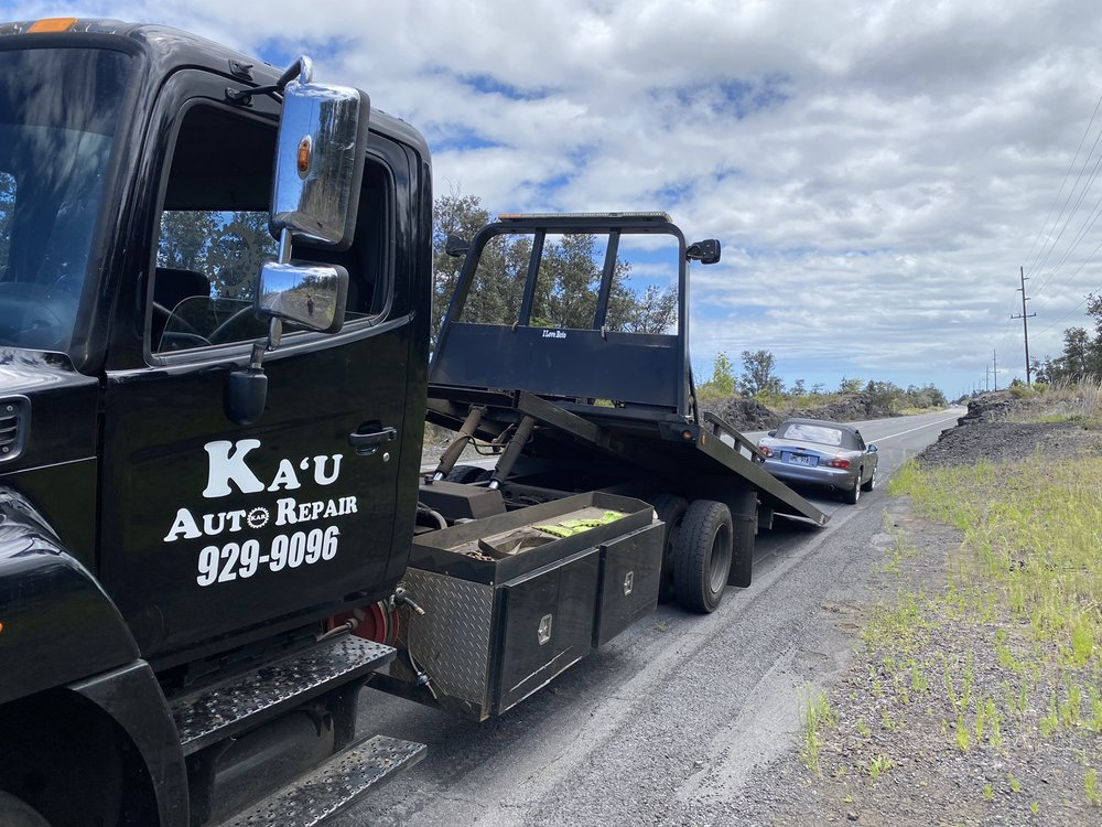 Ka'u Auto Repair: 95-1178 kaalaiki rd, Naalehu, HI