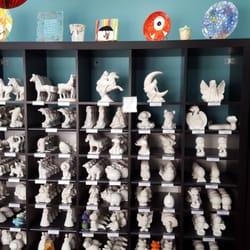 Inspirations Ceramic & Art Cafe 37 s Cafes 400 Ninth St