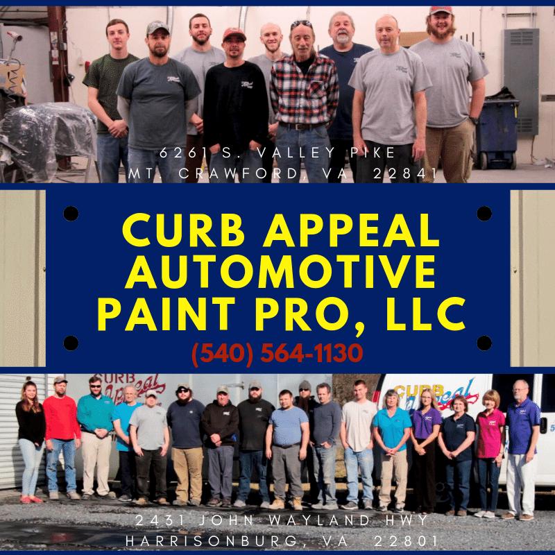Curb Appeal Automotive Paint Pro: 2431 John Wayland Hwy, Harrisonburg, VA