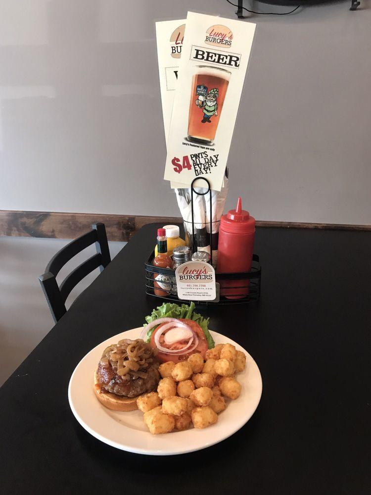 Lucy's Burgers: 1190 County Rd J, White Bear Lake, MN