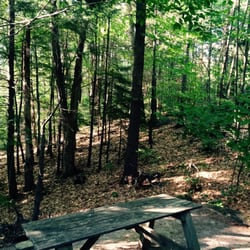 Adirondack camping sites with full hookups
