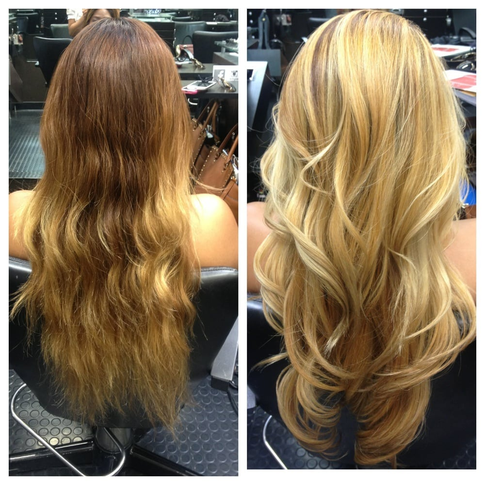 Hair by nancy vo before and after full blonde balayage for 2 blond salon reviews