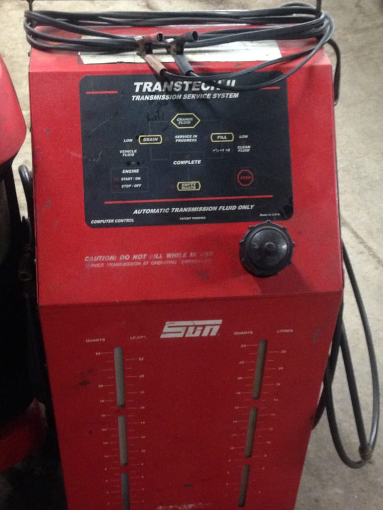 diy transmission flush machine