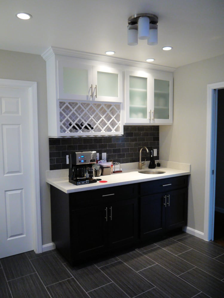 Wet bar cabinets and counter top yelp - Wet bar cabinets ...